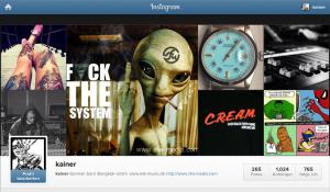 Kainer Weissmann auf Instagram