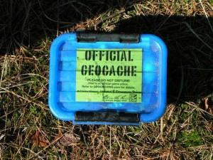 Üblicher Geocache