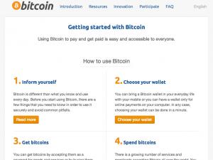 Bitcoin. org Der Start für Ihre Bitcoin Achterbahn