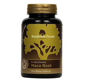2015-04-06 14-56-43 Rainforest Foods Maca-Kapseln 120 X 500Mg, 1er Pack (1 x 60 g) - Bio: Amazon.de: Drogerie & Körperpfleg