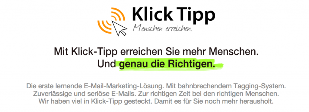 WooCommerce to Klick-Tipp - Klick-Tipp-Email-Marketing-Deutschland
