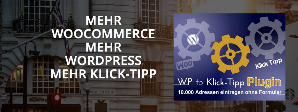 WooCommerce to Klick-Tipp