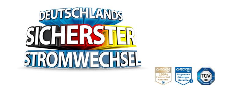 Titel: Deutschlands sicherster Ökostromwechsel