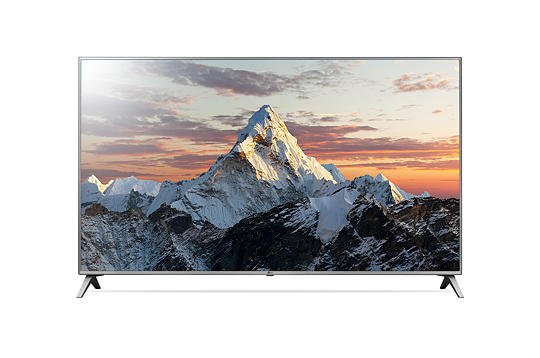 Strom mit Fernsehgerät LG TV Front
