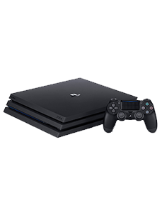 Playstation 4 Pro mit Controller