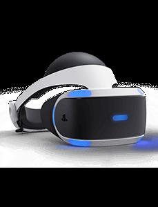 PS4 VR Brille nach rechts gerichtet