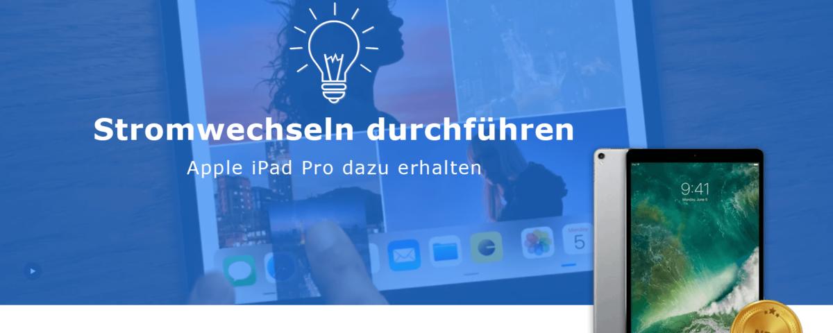 Prämie Apple iPad Pro mit Glühbirne