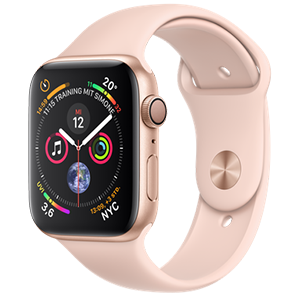 Rosa farbene Apple Watch 4