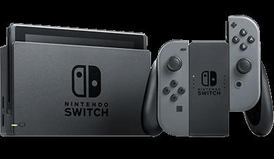 Nintendo Switch Konsole Schwarz