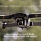 Drohne im Flug in der Luft, mit Schriftzug: Stromwechsel mit Drohne