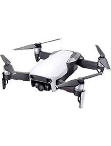 Drohne Mavic Air auf weissem Hintergrund