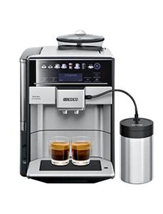 Siemens Kaffeemaschine EQ.6 Plus + Milchaufschäumer