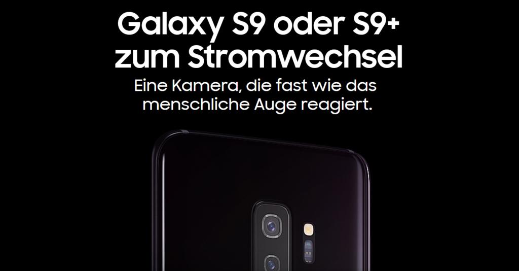 Samsung S9 in schwarz mit 64 GB