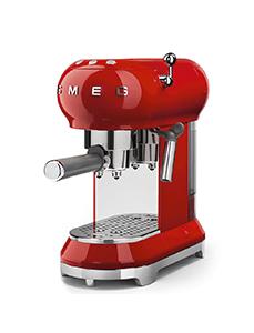 SMEG Espresso maschine in Farbe Rot