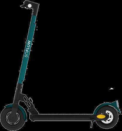 E-Scooter zum Stromwechsel